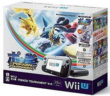 Nintendo Wii U Pokken Tournament Set & Amiibo Card Dark Mewtwo EMS Japan