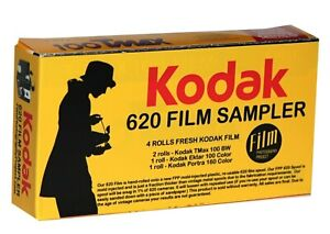 620 Film - BW / Color Film Kodak Assortment - Perfect for Kodak 620 Brownies