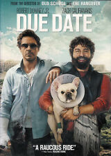 Due Date ~ Robert Downey Jr. Zach Galifianakis Jamie Foxx New Factory Sealed DVD