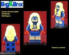 STARGIRL DC Custom Printed LEGO Minifigure NO DECALS USED!
