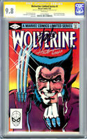 WOLVERINE LIMITED SERIES #1 CGC 9.8 SS SIGNATURE SERIES STAN LEE & HERB TRIMPE
