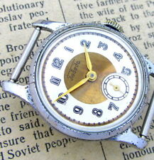 ZIM POBEDA GOLD TONE Vintage 1960s RETRO Soviet Russian USSR Mechanical Watch