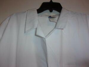 Meta Medical Unisex L/S Lab Coat 3 Pockets White Size 5X  (B208)