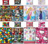 Official Licensed Character Single Rotary Duvet Cover Bed Sets Gift Boys Girls