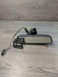 BMW E60 E61 Rear View Mirror With High Beam Camera With Rain Sensor 6986897