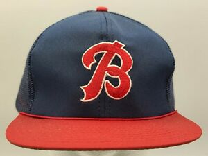 VINTAGE  Buffalo Bisons Mesh Snapback Hat/Cap, New Old Stock!