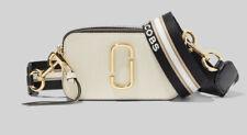 BNWT Marc Jacobs Snapshot New Cloud White Multi Small Camera Crossbody Bag