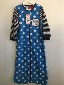Boys Long Sleeve Sleeping Bag Size 3 Years Fleece Brand New with Tag