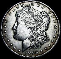 1896-O Morgan Dollar Silver US Coin ----  Nice Details  ---- #G338