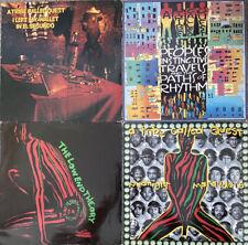 "A Tribe Called Quest Collector's Vinyl Bundle Original Vinyl 12"" & LP's See List"