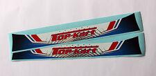 TOP-KART STYLE HELMET VISOR STICKER/STRIP - KARTING