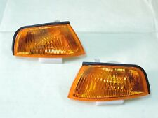 Mitsubishi Lancer Evo 4 IV Crystal Amber Corner Lights Lamps 95~98 E-MARK L971