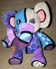 Britto Plush Toddler Baby Elephant Toy Pop Plush Enesco Jasper