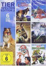 DOPPEL-DVD NEU/OVP - Tierwelten Edition 2 - Unsere Lassie u.a. - 6 Filme DVD Box