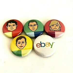 eBay Open Faces Buttons Pins 2017