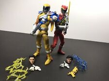 Mighty Morphin Power Rangers Hasbro Lightning Collection Dino Charge Lot