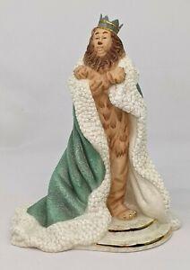 "Lenox Wizard of Oz Collection Cowardly Lion 8.75"" Sculpture Figurine"