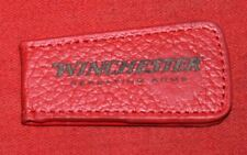 Winchester  Leather Money Clip