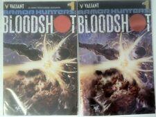 ARMOR HUNTERS: BLOODSHOT #1-3 (2014) VARIANTS INCLUDED, VALIANT, NM