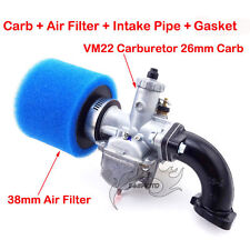 Mikuni VM22 26mm Carby Filter Intake Pipe 110 125 140 cc SSR Pit Dirt Trail Bike