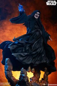 Sideshow Star Wars Emperor Palpatine Darth Sidious Mythos 1/4 Statue In Stock