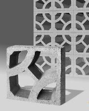 Formsteine Dekor Y - Breezeblock Ornamentstein Designblock Sichtschutz Mauer