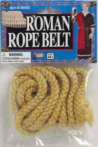 Rope Belt Roman Monk Grim Reaper Biblical Halloween Adult Costume Accessory