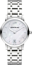 108764 | BRAND NEW MONTBLANC STAR CLASSIQUE STAINLESS STEEL 34MM WOMEN'S WATCH