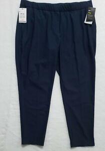 Nike Flex Dri-Fit Womens Golf Woven Golf Pants UPF 40+ Navy Blue XXL BV0174-451