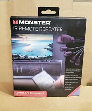 Monster IR Remote Repeater Audio / Video component controller IR extender NEW!