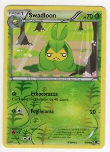 Pokemon Swadllon 6/98 Non Comune reverse - Nuove Forze ITA Mint
