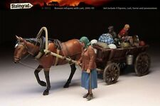 1/35 Resin Kit Stalingrad S-3011 Russian refugees with cart