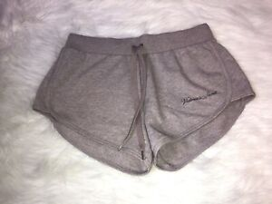 Women's Victoria's Secret Purple Heather Cotton Sweat Shorts Size XS NWT