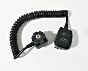 Vello Off-Camera TTL Flash Cord for Canon Cameras (3')