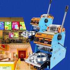 220V Electric Automatic Plastic Tea Cup Sealing Machine Bubble 300 CupPop