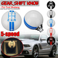 Para Ford Mustang 5 Speed Gear Stick Manual Shift Knob Shifter Lever Universal