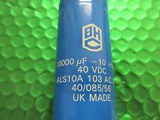 BHC Condensateur, 10000uf 40 V Bornier à vis, ALS10A103AC040