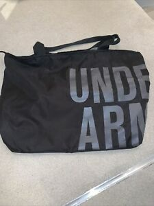Black Under Armour Canvas Bag