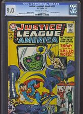 JUSTICE LEAGUE OF AMERICA #33 CGC VF/NM 9.0; CM-OW; Enemy from Timeless World!