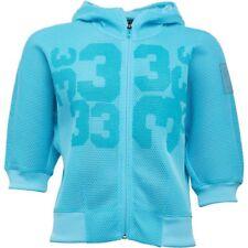 adidas Womens ClimaCool Mesh Running Hoody Blue Glow RRP: £79.99