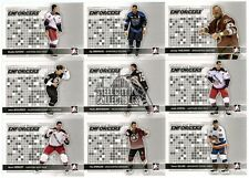 2009-10 In The Game Heroes & Prospects Enforcers 10-Card Insert Set