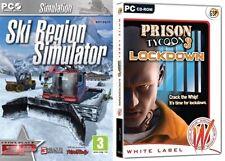 ski region simulator & Prison Tycoon 3 Lockdown