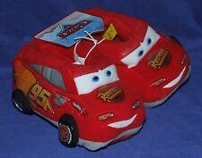 Disney Pixar Cars Lighting McQueen Slippers Size 7-8 New Child