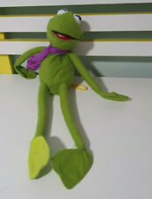 KERMIT THE FROG 90S SHOWBAG PLUSH CHARACTER TOY PURPLE SCARF! 38CM