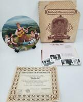 Edwin Knowles The Sound of Music Collector's Plate #2 Original Box Certificate