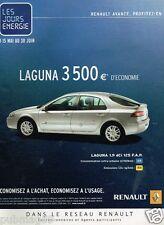 Publicité advertising 2006 Renault Laguna 1.9 dCi 125
