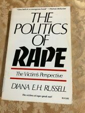 The Politics of Rape: The Victim's Perspective by Diana Russell 1984 Book