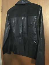 Ladies casual/dress Jacket black large reversible