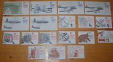 Weeda Great Britain QEII Decimal booklets, 18 different, FH1B//FH16 CV ₤106