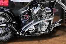 "Big Bear Choppers BBC Santee Venom 2"" Exhaust Drag Pipes Harley Softail Chopper"